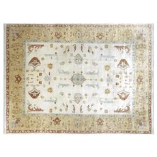 "Contemporary Indo Oushak Carpet - 12'2"" x 15'11"""