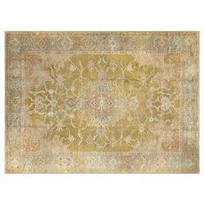 "1920s Turkish Oushak Carpet - 10'6"" x 14'"