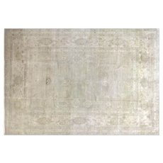 "Contemporary Indian Tabriz Carpet - 9'10"" x 14'3"""