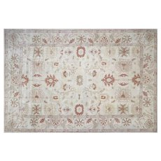 "Contemporary Turkish Oushak Carpet - 15'1"" x 21'4"""