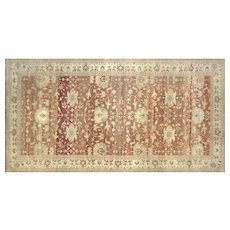"1980s Egyptian Sultanabad Carpet - 9'11"" x 19'"