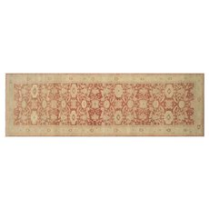 """1980s Egyptian Sultanabad Carpet - 6'1"""" x 21'5"""""""