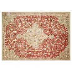 "1920s Turkish Oushak Carpet - 9'1"" x 12'9"""