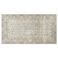 "1950s Persian Kerman Carpet - 10'11"" x 20'2"""