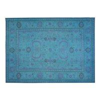 "1970s Overdyed Afghan Soumak Carpet - 10'3"" x 13'4"""