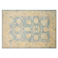 "1980s Turkish Oushak Carpet - 7'8"" x 10'10"""
