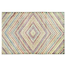 "1960s Turkish Art Deco Rug - 6'3"" x 9'5"""