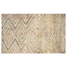 "1960s Turkish Art Deco Rug - 5'10"" x 10'6"""