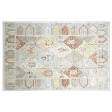 "Contemporary Turkish Oushak Carpet - 9'10"" x 14'11"""