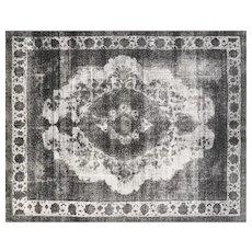 "1960s Overdyed Persian Tabriz Carpet - 9'11"" x 12'6"""