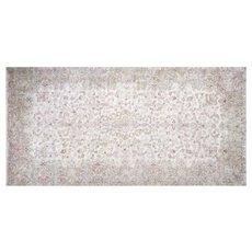 "1950s Persian Kerman Carpet - 11'4"" x 22'8"""