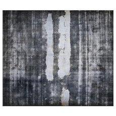 "1950s Overdyed Persian Kerman Carpet -13'4"" x 15'6"""