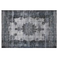 "1950s Overdyed Persian Kerman Carpet - 8'8"" x 12'6"""