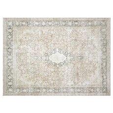 "1950s Persian Kerman Carpet - 9'11"" x 13'8"""