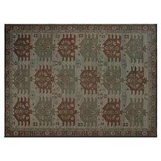 "1970s Chinese Soumak Carpet - 12'1"" x 16'9"""