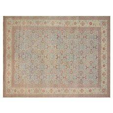 "1940s Persian Tabriz Carpet - 8' x 10'11"""