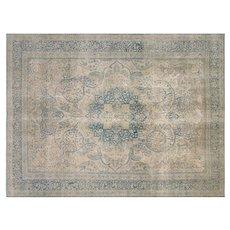 "1940s Persian Tabriz Carpet - 8' x 11'1"""