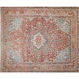 "1930's Persian Baktiari Carpet - 10'11"" x 12'11"""