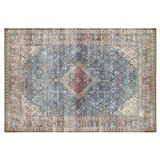 """1930's Persian Joshagan Carpet - 7'9"""" x 11'2"""""""