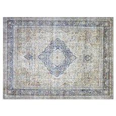 "1940s Persian Kerman Carpet - 11'9"" x 15'9"""