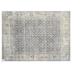 "1940s Persian Tabriz Carpet - 9'2"" x 12'6"""