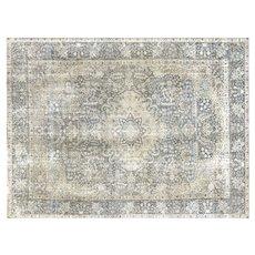 "1940s Persian Tabriz Carpet - 9'3"" x 12'6"""