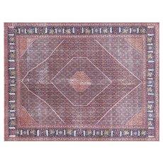 "1940s Persian Tabriz Carpet - 10'11"" x 14'4"""