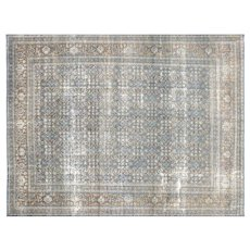 "1940s Persian Tabriz Carpet - 9'10"" x 13'"