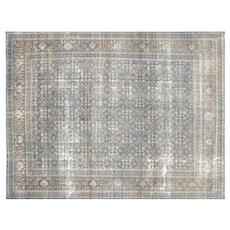"1940's Persian Tabriz Carpet - 9'10"" x 13'"