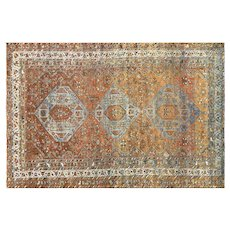 "1930's Persian Shiraz Rug - 6'6"" x 9'9"""