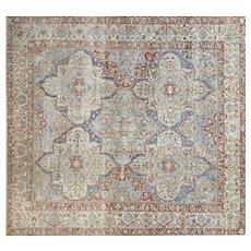 "1930s Persian Baktiari Carpet - 14' x 14'9"""