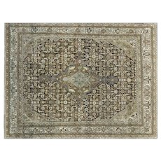 "1920s Persian Malayer Carpet - 8'7"" x 11'3"""