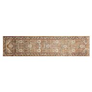 "1920s Persian Malayer Runner - 3'1"" x 13'2"""