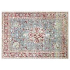 "1940's Persian Tabriz Carpet - 10'1"" x 14'"