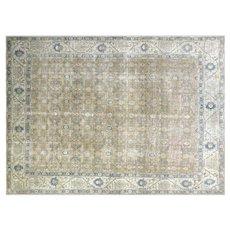 "1940s Persian Tabriz Carpet - 11'3"" x 14'8"""