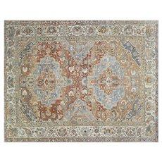 "1930s Persian Baktiari Carpet - 11' x 13'8"""