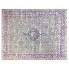 1940s Persian Kerman Carpet - 13' x 16'4""