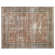 "1920's Persian Mahal Carpet - 10'7"" x 13'1"""