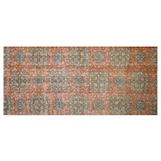 "1920s Turkish Oushak Carpet - 11'6"" x 25'5"""