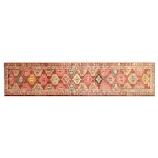 "1960s Turkish Oushak Runner - 2'11"" x 12'10"""