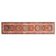 "1960s Turkish Oushak Runner - 2'10"" x 13'3"""