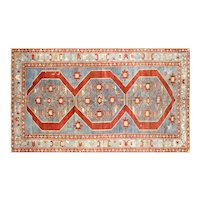 "1960s Turkish Oushak Carpet - 5'11"" x 10'2"""