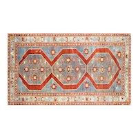 "1960s Turkish Oushak Carpet - 5'11"" x 10'2"""