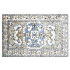 "1960s Turkish Oushak Carpet - 7'6"" x 11'9"""