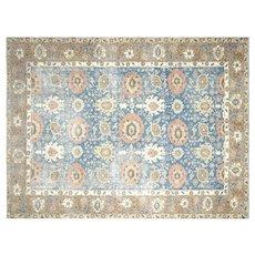 "1940's Persian Tabriz Carpet - 8'9"" x 11'8"""