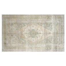 "1960s Turkish Oushak Carpet - 6'4"" x 10'8"""
