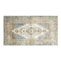 "1960s Turkish Oushak Carpet - 5'7"" x 10'1"""