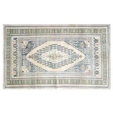 "1960s Turkish Oushak Carpet - 5'5"" x 8'8"""