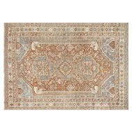 "1920's Persian Shiraz Carpet - ""7'1"" x 10'"