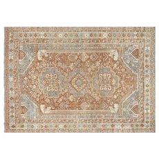 "1920's Persian Shiraz Carpet - ""7'1"" x 10'"